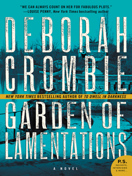 Title details for The Garden of Lamentations by Deborah Crombie - Wait list